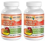 African Mango - Unique Natural Weight Loss Supplement & Fat Burner (2 Bottles)