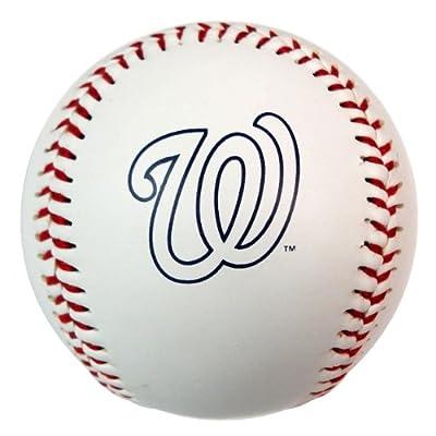 MLB Washington Nationals Baseball with Team Logo