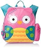 Stephen Joseph Little Girls' Mini Sidekick Backpack, Owl, One Size