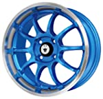Konig Lightning Blue Wheel with Machi...