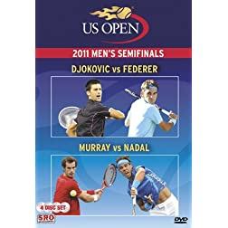 2011 US Open Men's Semifinals: Djokovic vs Federer/Murray vs Nadal