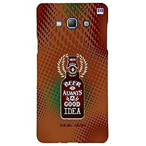 Beer Always Good Idea - Mobile Back Case Cover For Samsung Galaxy A5 (2015)