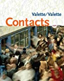 Bundle: Contacts: Langue et culture françaises, 8th + eSAM in Quia Printed Access Card + In-text Audio CD-ROM (0547144792) by Valette, Jean-Paul