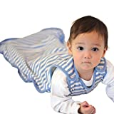 Woolino 4 Season Toddler Sleep Bag, Merino Wool Sleep Sack, 2-4 Yr, Blue Bell