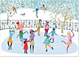 Skating Party Deluxe Boxed Holiday Cards (Christmas Cards, Holiday Cards, Greeting Cards)