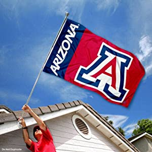 Buy Arizona Wildcats Cats University Large College Flag by College Flags and Banners Co.