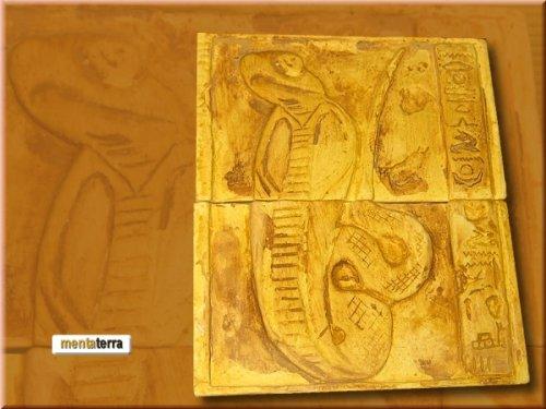 gyptische-Dekorfliese-Kobra-2-FLiesen-Terrarium-Deko-Rckwand