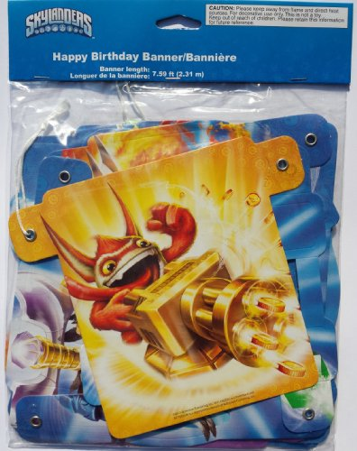 Skylanders Happy Birthday Banner (7.59 Feet) - 1