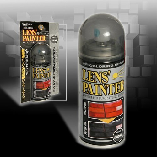 Smoke Lens Spray Paint for Car Headlights, Tail Lights, Corner Lights, Bumper Lights, Fog Lights (Spray Paint For Car Lights compare prices)