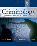 img - for Criminology: Explaining Crime and Its Context book / textbook / text book