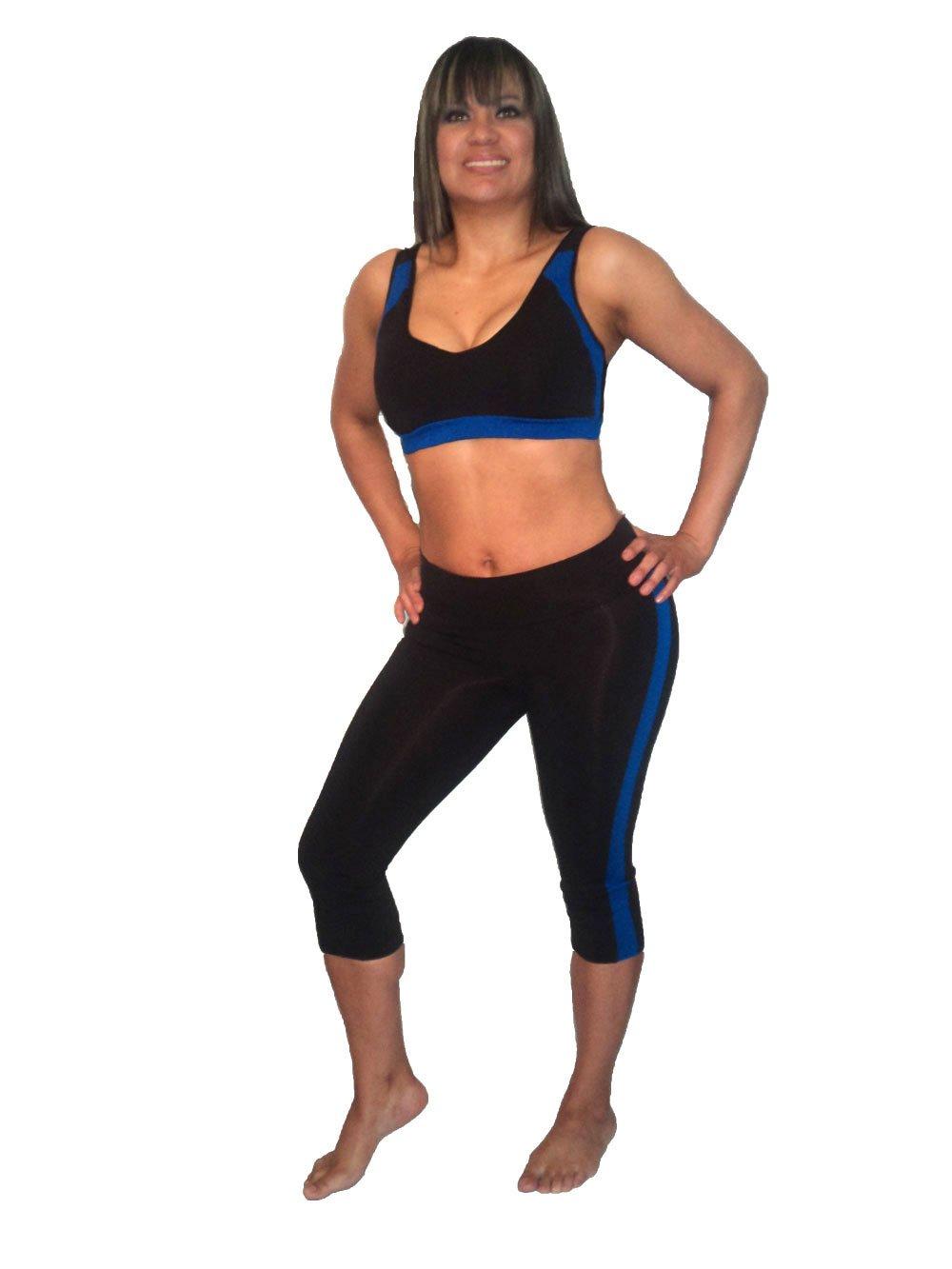 314 Ladies shock absorber sports bra & fitness, gym, yoga, Pilates exercise wear. 2 PIECE SET. Women shock absorber sports bra & fitness, gym, yoga, Pilates exercise clothing £24.99