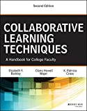 img - for Collaborative Learning Techniques: A Handbook for College Faculty book / textbook / text book