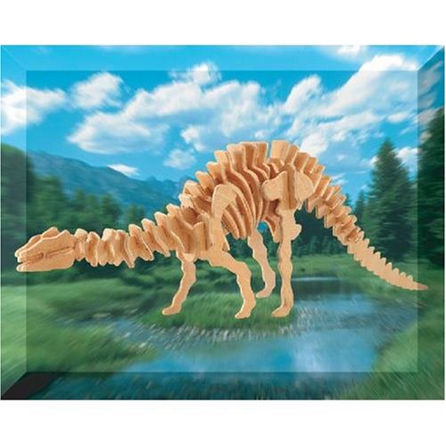 Apatosaurus Dinosaur 3D Woodcraft Construction Kit - Buy Apatosaurus Dinosaur 3D Woodcraft Construction Kit - Purchase Apatosaurus Dinosaur 3D Woodcraft Construction Kit (Puzzled by Creative Ventures, Toys & Games,Categories,Construction Blocks & Models,Construction & Models,Animals & Insects)