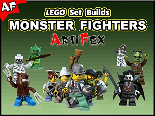Clip: Lego Set Builds Monster Fighters - Season 1