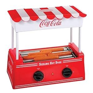Nostalgia Electrics Nostalgia Electrics Coca-Cola Series HDR565COKE Old Fashioned Hot Dog Roller from Englewood Marketing Group Inc