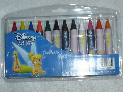 Tinker Bell Jumbo Crayons (12 pcs pack) : Tinkerbell crayons - Buy Tinker Bell Jumbo Crayons (12 pcs pack) : Tinkerbell crayons - Purchase Tinker Bell Jumbo Crayons (12 pcs pack) : Tinkerbell crayons (National Design, Toys & Games,Categories,Arts & Crafts,Crayons)