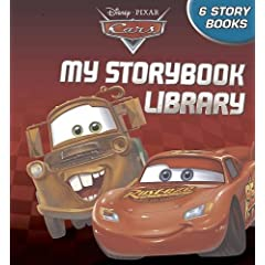 Disney Pixar Cars My Storybook Library