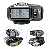 Neewer® N1T-S TTL 2.4G 32 Channels Wireless Flash Trigger Transmitter For Sony A77II A7RII A7R A58 A99 A6000 Camera with Mi Hot Shoe ,Studio Flash and Flash Speedlite(replacement for Godox X1T-S)
