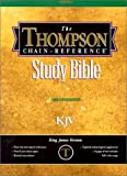 Thompson-Chain-Reference-Bible---King-James-Version--Regular-Size-Burgundy-Genuine-Leather-with-Levant-Grain-Smyth-sewn-pages-Gold-gilding-and-stamping-