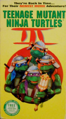 Teenage Mutant Ninja Turtles III [VHS] - 1