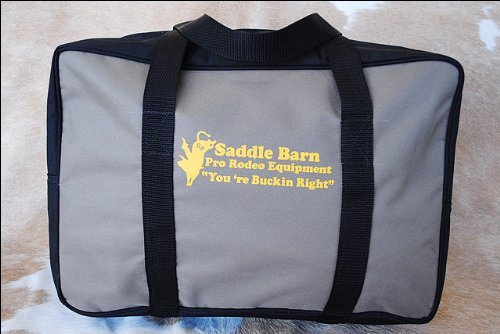 Mocha Saddle Barn Pro Rodeo Youth Gear Bag Cordura 10x14x20 (Pro Rodeo Gear compare prices)