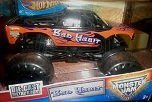 Hot Wheels 1:24 Scale Bad Habit Monster Jam Truck