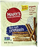 Mary's Gone Crackers Sea Salt Pretzels Snack Bags, 1.25 Ounce, 25 Count