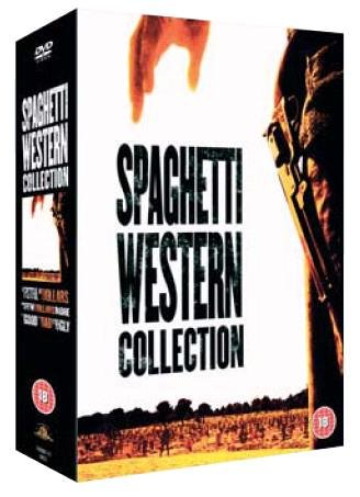 Spaghetti Westerns Collection : Fistful of Dollars / For a Few Dollars More / The Good, The Bad and the Ugly [DVD]