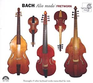 Bach: Alio Modo - Passacaglia & Other Keyboard Works Transcribed for Viols