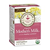 Traditional Medicinals Teas Organic Mother's Milk Herbal Tea, 32 Count (Tamaño: 16 Each (Pack of 2))