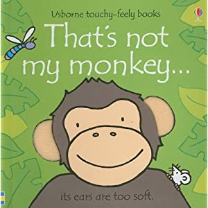 Usborne Touchy Feely book.