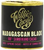 Willie's Cacao Madagascan Black Sambirano 100% Cacao Summer Fruit Notes 180 g (Pack of 2)