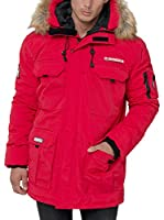 GEOGRAPHICAL NORWAY Abrigo Corto Doudoune (Rojo)
