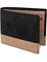 Laurels Tarrain II Black And Light Brown Men's Wallet (TRN II-0110)