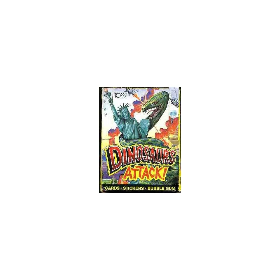 Dinosaurs Attack Trading Cards Box  48 Count