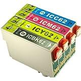 エプソン EPSON互換 インク 4色セット IC4CL62