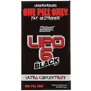 NUTREX LIPO-6 Black (DMAA-FREE) Extreme Fat Destroyer