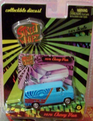 Planet Toys Street Whipz 1:64 Scale 1976 Chevy Van