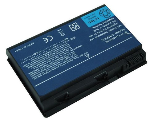 PELTEC@ - Batteria per notebook/laptop ACER Extensa 5210, 5220, 5230, 5235, 5420, 5610, 5620, 5630, 5635, 5720, 7620, 7520, 7720 - TravelMate 5520, 5530, 5710, 5730 - TM00741, TM00751, GRAPE32 , GRAPE34, LC.BTP00.005, CONIS71, LC.BTP00.006, BT.00603.024 , BT.00604.011 , T.00604.015 , LIP6219VPC , LIP6219VPC SY6 , LIP6232CPC