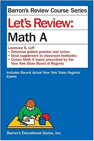 Let's Review: Math A (Let's Review Series)