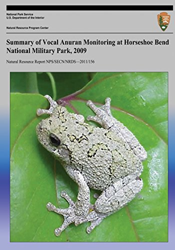 Summary of Vocal Anuran Monitoring at Horseshoe Bend National Military Park, 2009