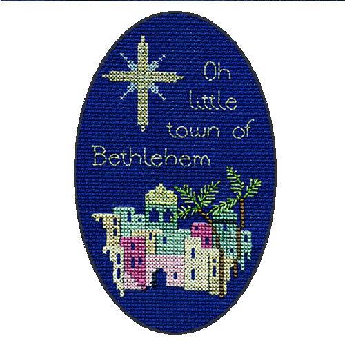 BETHLEHEM Derwentwater Designs-Kit per creare biglietti di auguri di Natale