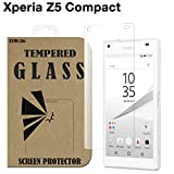 Xperia Z5 Compact 4.6インチ ガラスフィルム docomo SO-02H SONY エクスペリアz5コンパクト 液晶保護 透明 国産強化ガラス ラウンドエッジ加工 Tempered Glass Film クリア [EXMO,Inc.] EX-XPZ5c-GLASS-CL