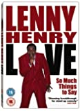 Lenny Henry: So Much Things To Say - Live [DVD]