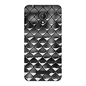 Snow Cage Back Case Cover for Micromax Canvas Spark Q380