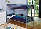 Eliza Amara Kids Bunk Bed (Silver)