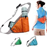 #9: Glive Sports Waist Bag Bottle Holding Pouch Travel Bag ( Multi Color )