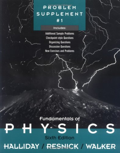 Fundamentals of Physics, , Problem Supplement No. 1, David Halliday, Robert Resnick, Jearl Walker