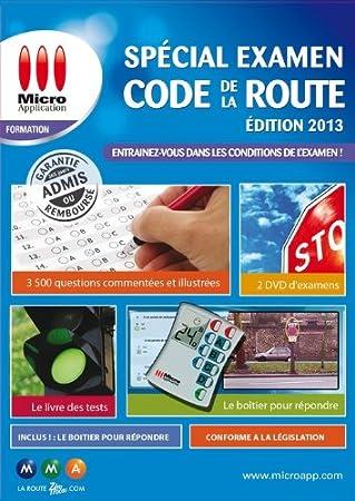 Code de la route - spécial examen - édition 2013