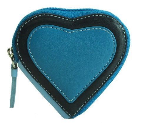 visconti-capri-rb59-heart-shaped-leather-coin-purse-key-wallet-with-key-chain-blue